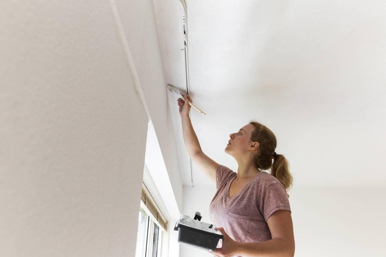 Astuces pour repeindre son plafond