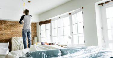 Conseils de pro pour repeindre un plafond