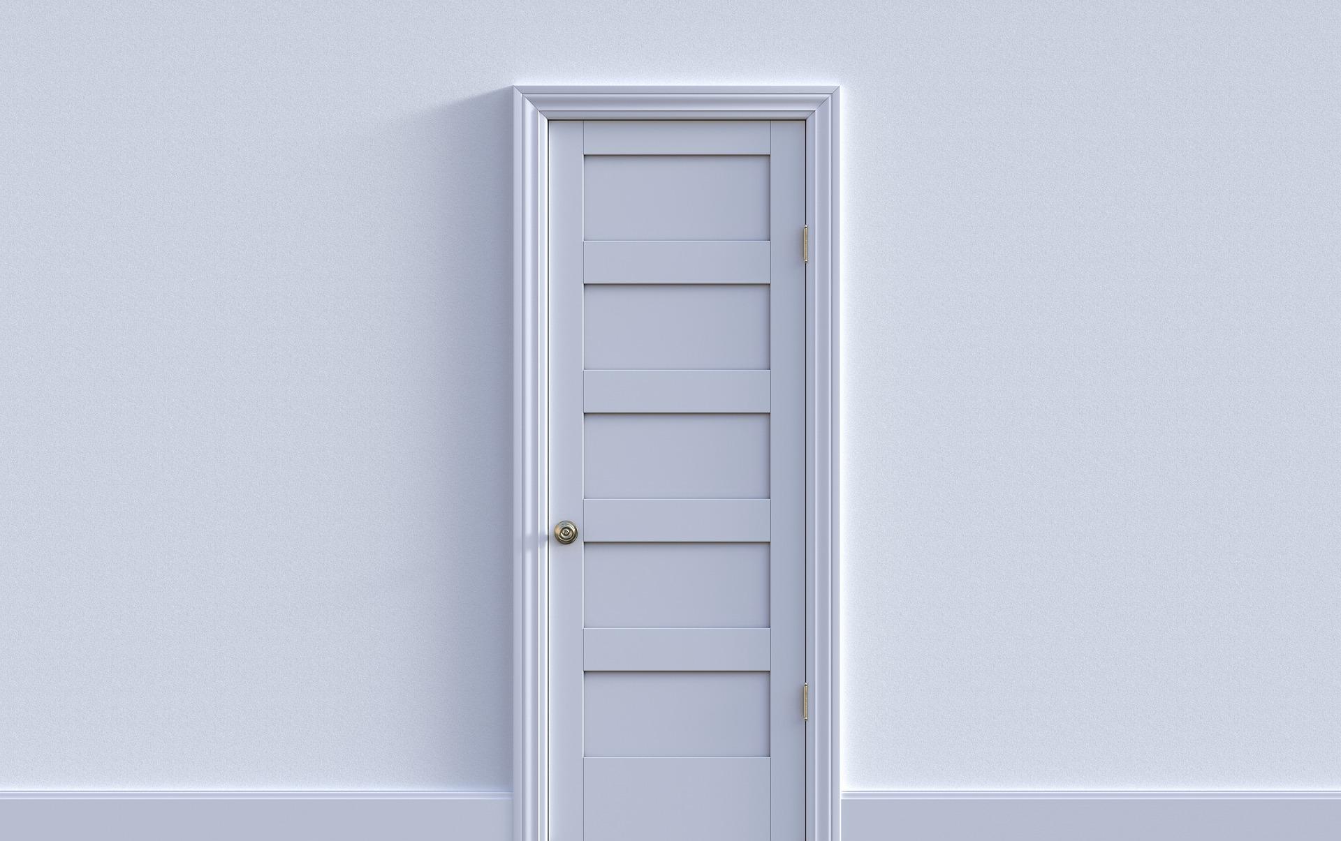 porte intérieure en bois